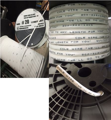 Custom Industrial/Commercial Wire & Cable Printing Services | Cole Wire